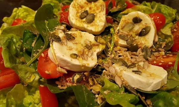 Menu image, Italian style dinner