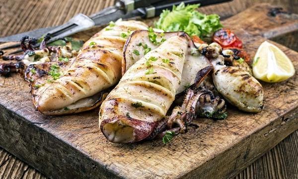 Menu image, Seafood Feast (Sardinian Menu)